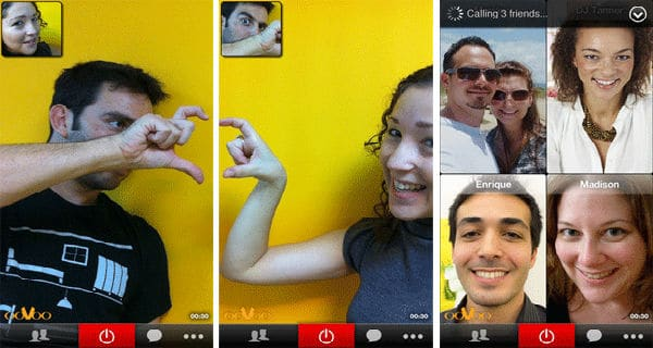 oovoo video call text and voice for iphone