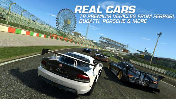Real Racing 3 game for iPhone